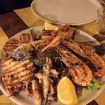 grigliata di pesce pesce per 2 persone