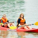 kayaking with Alova Gold