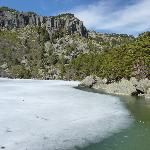 la laguna negra helada
