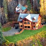 Aerial View of Denali Overlook Inn B & B
