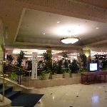 ホテルのロビーです。