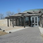 Entrance to the Western Historic Trails Center