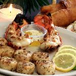 Wink's Lobster Tail, Grilled Shrimp and Grilled Scallop Dinner!!