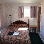 1st Bedroom of Two Bedroom Cabin