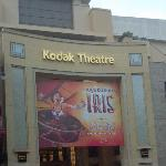 Iris, a spectacular Cirque du Soleil presentation on Hollywood Blvd.