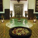 bain en février sans chauffage mais après un hammam