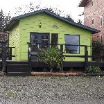 The Little Green Cabin-Book by phone