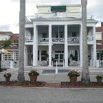 Front entrance of the Gasparilla Inn