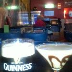Guiness and a Chocolate Martini