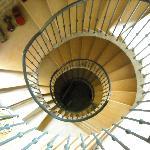 veduta delle scale