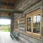 Log Cabin - film set?