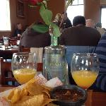 Mimosas and breakfast buffet at La Piñata