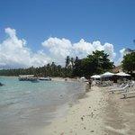 A Praia de Guarapuá.