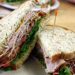 Turkey sandwich on abenaki