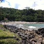 Beach for swimming and surfing