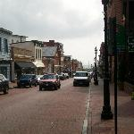 Street view from Maryland Inn