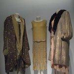 Evening dresses and coats