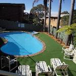 Salt-chlorinated pool