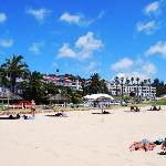 On the Santos Beach