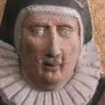 detail of a commorotive votiv
