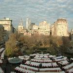 Mercado navideño de Union Square