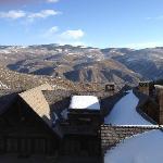 Blick von der Clubebene auf das Tal