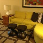 sitting are in 2 room suite