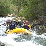 Rafting on the San Miguel in Telluride