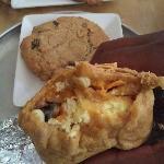 My breakfast burrito - YUM!!!