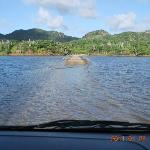 This is amazing a road true the lagoon