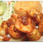 Camarones a la diabla /hot shrimp