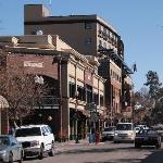 Minnesota Ave and the Oxford Hotel, Bend OR.