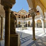 Casa Pilatos courtyard