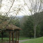 There are at least two beautiful gazebos on the property.