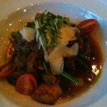 Dinner - braised lamb and squash gnocchi