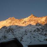 The Dom mountain, Switzerland's highest summit