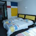 Grandes y comodas las habitaciones
