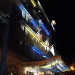 aloft at night