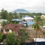 Uitzicht vanuit hotel