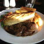 Steak and Ale Pie.. no scrimping on the steak here!