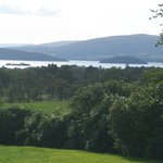 Garden overlooks Loch Lomond