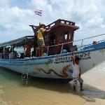 Boot zur Than Sadet Bucht