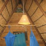 A PHOTO OF THE INNER ROOF OF A ROOM AT MABUYA CAP