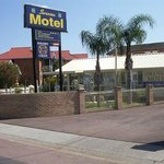 Motel Entrance Way