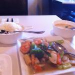 Seafood Double Hapiness & Jasmine rice