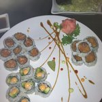 spicy roll combo-tuna, salmon, Cali (best one) $15