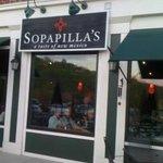 Front side of Sopapillas