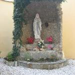 Grotto in the Front Yard
