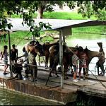 Ferry Crossing at Xunantunich