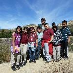 Group of Hikers at the top of the Ecology Trail